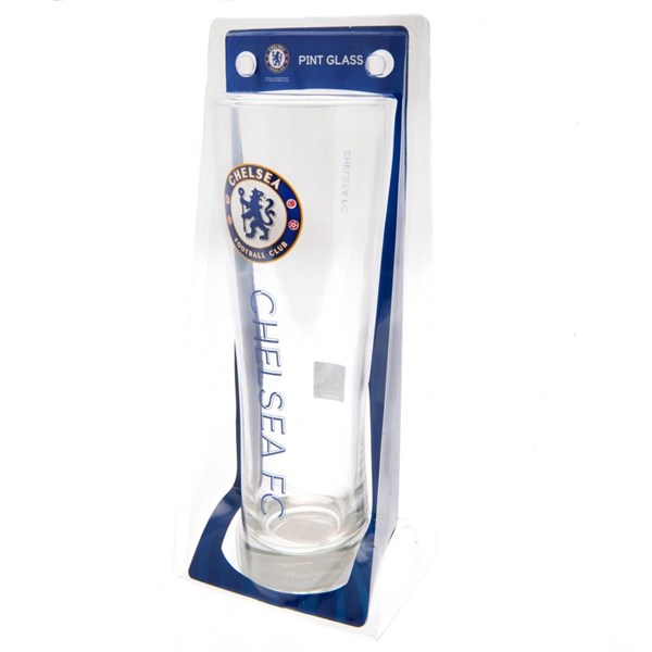 Chelsea F.C. Tall Beer Glass