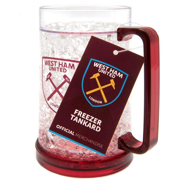 West Ham United F.C. Plastic Freezer Tankard