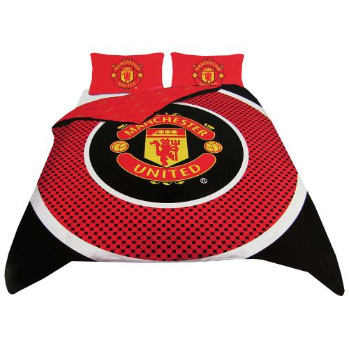 Buy Official Manchester United F C Double Duvet Set Be
