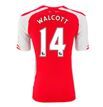 2014-15 Arsenal Home Shirt (Walcott 14)