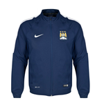 2014-2015 Man City Nike Woven Jacket (Navy)