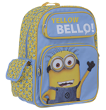 Despicable Me 2 Backpack with pockets Yellow Bello