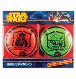 Star Wars Hand Warmers 2-Pack Darth Vader and Yoda