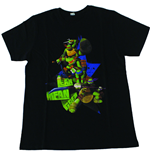 TEENAGE MUTANT NINJA TURTLES (TMNT) Kid's Lean, Mean, Green T-Shirt, 140/146, Black