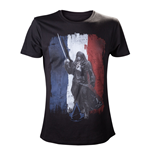 ASSASSIN'S CREED Unity French Tricolour Medium T-Shirt, Black