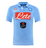 2014-2015 Napoli Authentic Home Match Shirt