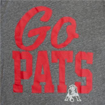 805417602 Buy Junk Food NFL Go Pats Men s NEW ENGLAND PATRIOTS Tee Shirt
