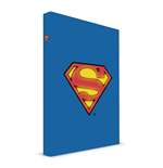 Superman Notebook with with Light Logo