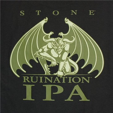 Arrogant Bastard Ruination IPA Black T-Shirt