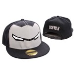 Iron Man Adjustable Cap Yeux red