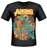 Asking Alexandria T-shirt Monster