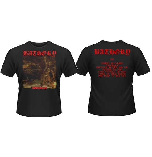Bathory T-shirt Hammerheart