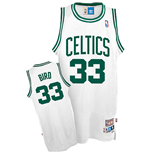 adidas Boston Celtics #33 Larry Bird Soul Swingman Home Jersey