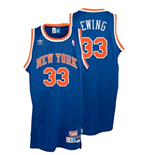 adidas New York Knicks #33 Patrick Ewing Soul Swingman Road Jersey