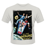 Bill And TED'S Excellent Adventure T-shirt Poster
