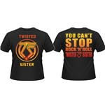 Twisted Sister T-shirt You CAN'T Stop ROCK'N'ROLL