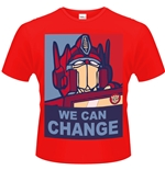 Transformers T-shirt We Can Change