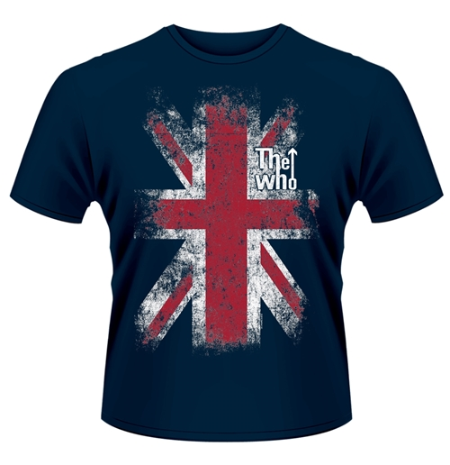 The Who T-shirt Union Jack