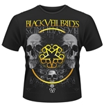 Black Veil Brides T-shirt Greyskull