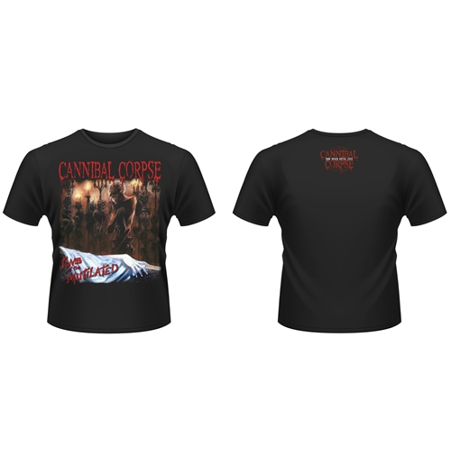Cannibal Corpse T-shirt Tomb Of The Mutilated