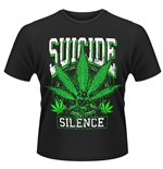 Suicide Silence T-shirt Leaves Of Three