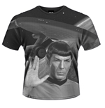 Star Trek T-shirt Spock All Over