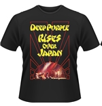 Deep Purple T-shirt Rises Over Japan