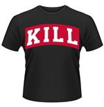 Kill Brand T-shirt Kill Varsity Boxed (BLACK)