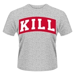 Kill Brand T-shirt Kill Varsity Boxed (GREY)