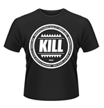 Kill Brand T-shirt Swag Logo Circle (BLACK)