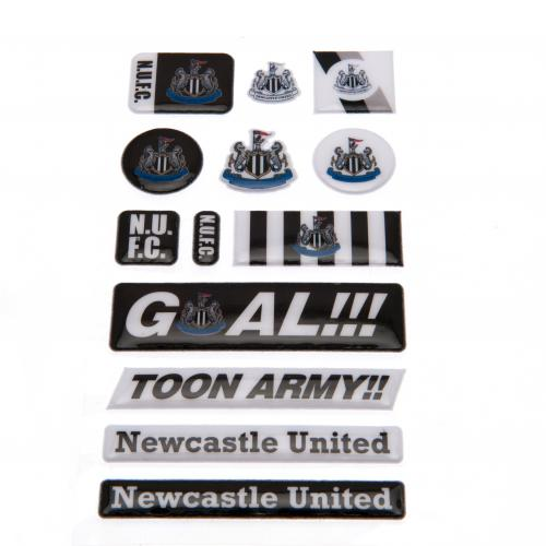 Newcastle United F.C. Bubble Sticker Set