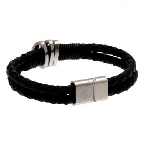 Sunderland A.F.C. Leather Bracelet