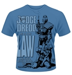Judge Dredd T-shirt He Is The Law