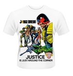 Judge Dredd T-shirt Justice