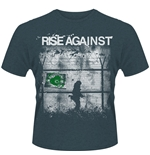 Rise Against T-shirt Borders 2