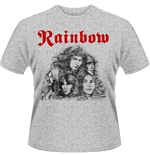 Rainbow T-shirt Long Live Rock & Roll (GREY)