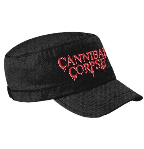 Cannibal Corpse Hat Logo Army Cap