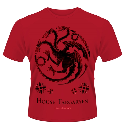 Game of thrones t shirt house of targaryen for only 14 for Game t shirts uk