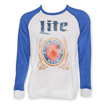 MILLER Lite Two-Tone Crew Neck