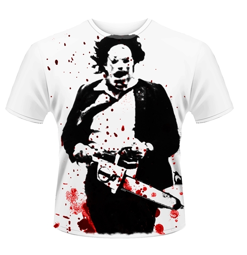 Plan 9 - The Texas Chainsaw Massacre T-shirt The Texas Chainsaw Massacre - Leatherface (jumbo PRINT)