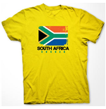 South Africa Soccer T-shirt (yellow)