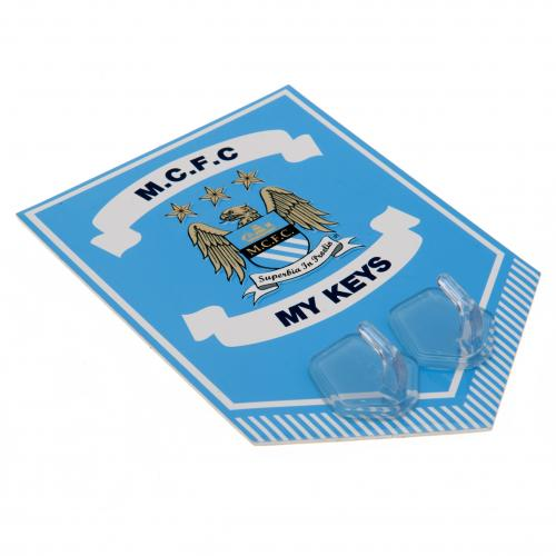 Manchester City F.C. Metal Key Hook