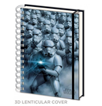 Star Wars Notebook A5 3D Stormtroopers