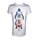 ASSASSIN'S CREED Unity Shades of a Revolution Small T-Shirt, White