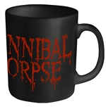 Cannibal Corpse Mug Dripping Logo