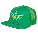 Zelda Logo Green Trucker Hat