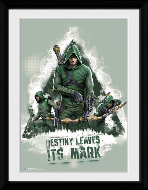 Arrow Destiny Framed Collector Print