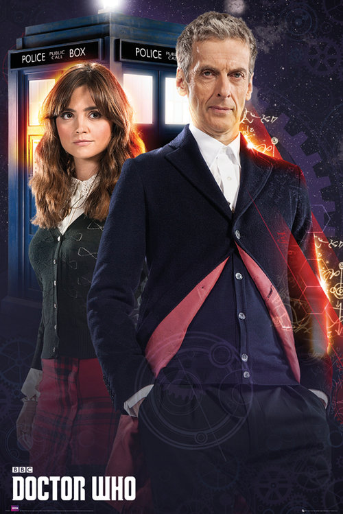 Doctor Who Doctor and Clara Maxi Poster