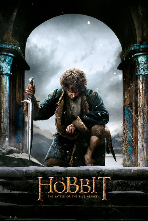 The Hobbit Battle of Five Armies Bilbo Maxi Poster