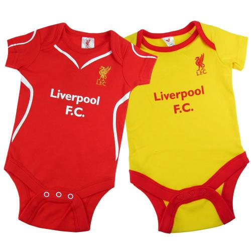 Liverpool Fc Baby Bodysuits Official Merchandise 2016 17